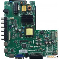 TP.VST59.P83, V400HJ6-PE1, Main, Power Board, homstar HS-4040 40 FULL HD LED TV